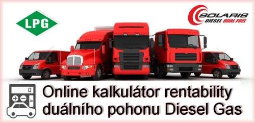Online kalkulátor diesel gas LPG